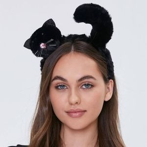 Forever 21 NWT Faux Fur Cat Headband